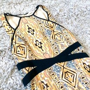Forever 21 Contemporary Tribal Print Dress Size xs